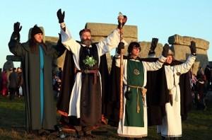 Druidy druids (Stonehenge)