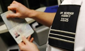 """Men at work"": UK Border Agency"