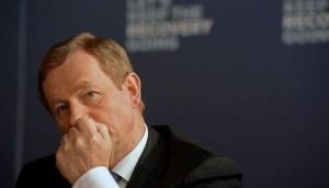 Enda Kenny - seeking re-election