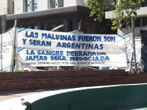 Malvinas Veterans - Plaza de Mayo (February 2016)